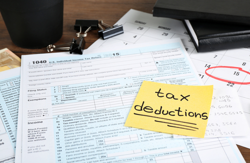 take advantage of tax deductions