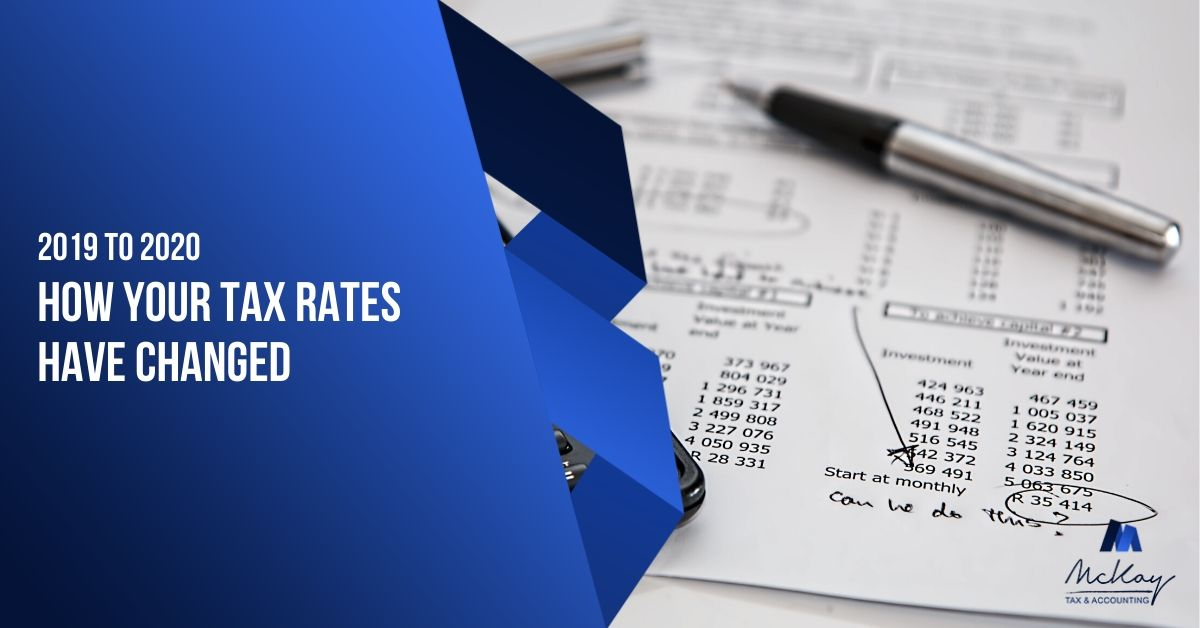 How Your Tax Rates Have Changed from 2019 to 2020